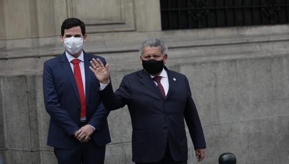 """César Combina dijo ver """"con mucha simpatía y agrado"""" que otros candidatos presidenciales se estén pronunciando a favor de Acuña. (Foto: GEC)"""