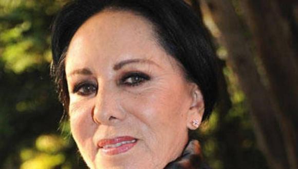 La veterana actriz falleció a los 82 años de edad
