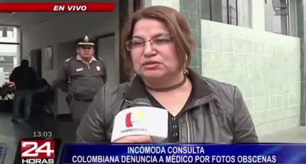 Una ciudadana colombiana denunció que Juan Carlos Pumacahua Puma le tomó fotos cuando ella se sacaba unas placas radiográficas. (24 Horas)