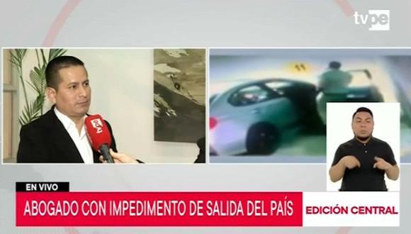 Vecinos esperan que Adolfo Bazán no vuelva a vivir en el edificio. (TV Perú)