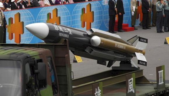 El Instituto de Ciencia y Tecnología Chungshan, encargado del desarrollo de equipos bélicos en la isla, también se negó a comentar estas pruebas y el tipo de misil empleado. (Foto: EFE)