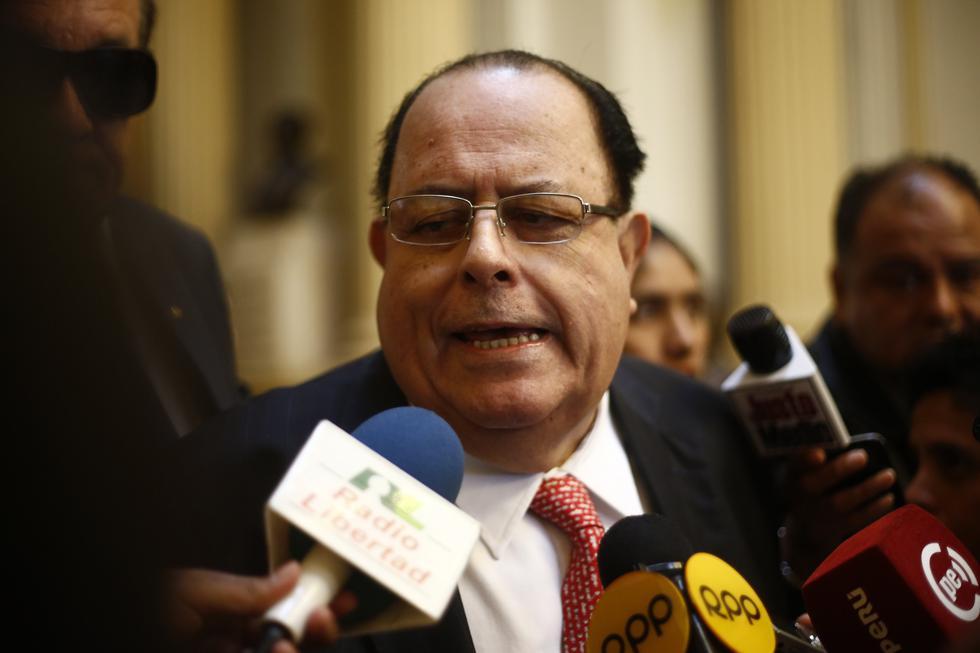 Julio Velarde respaldó las investigaciones contra la corrupción en el marco del acuerdo alcanzado entre el Ministerio Público y Odebrecht.(Foto: GEC)