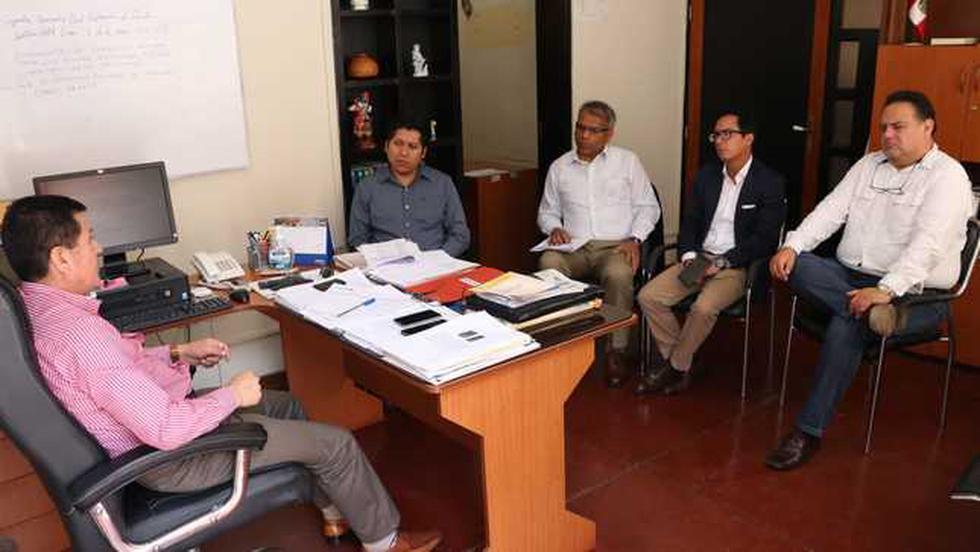 Funcionarios del MTC iniciaron recorrido en instalaciones del Centro de Emisión de Licencias de Conducir en Lambayeque