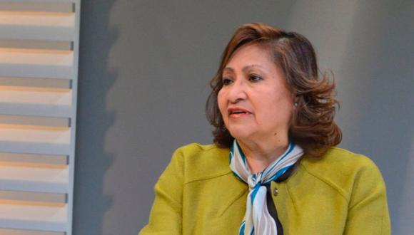 La excongresista y exministra Ana María Choquehuanca representará a las pymes en la Confiep.