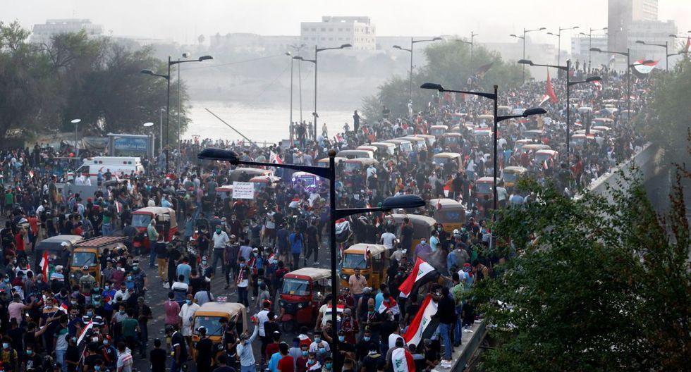 Irak: Cerca de 50 muertos en 48 horas de violentas protestas. (Foto: Reuters)