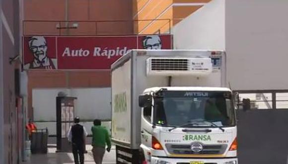 Clausuran dos locales de KFC en San Miguel. (América Noticias)