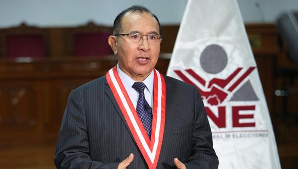 El pleno del JNE está compuesto por cinco miembros y hasta la fecha solo tiene cuatro pues falta el representante del Colegio de Abogados de Lima. (Foto: JNE)
