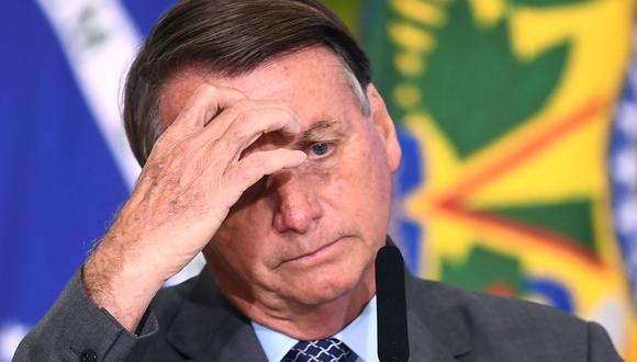 """Aliados del presidente Jair Bolsonaro """"pierden"""" seguidores de Twitter y denuncian """"abuso"""" por parte de la red social.  (Foto: EVARISTO SA / AFP)"""