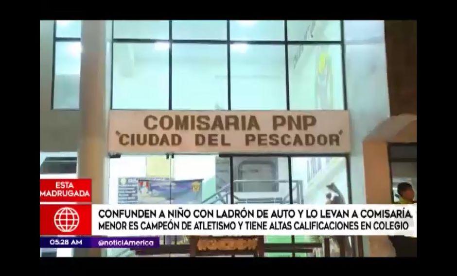 Agresión habría ocurrido dentro de la comisaría Ciudad del Pescador.