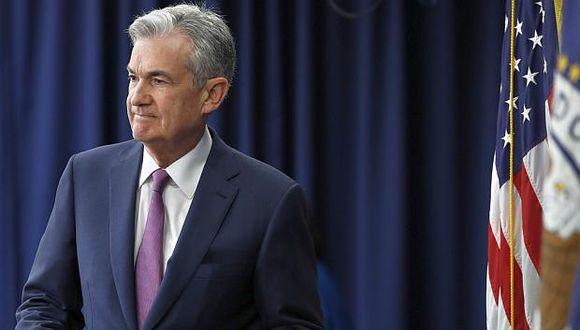 Jerome Powell, presidente de la Reserva Federal de Estados Unidos. (Foto: AP)