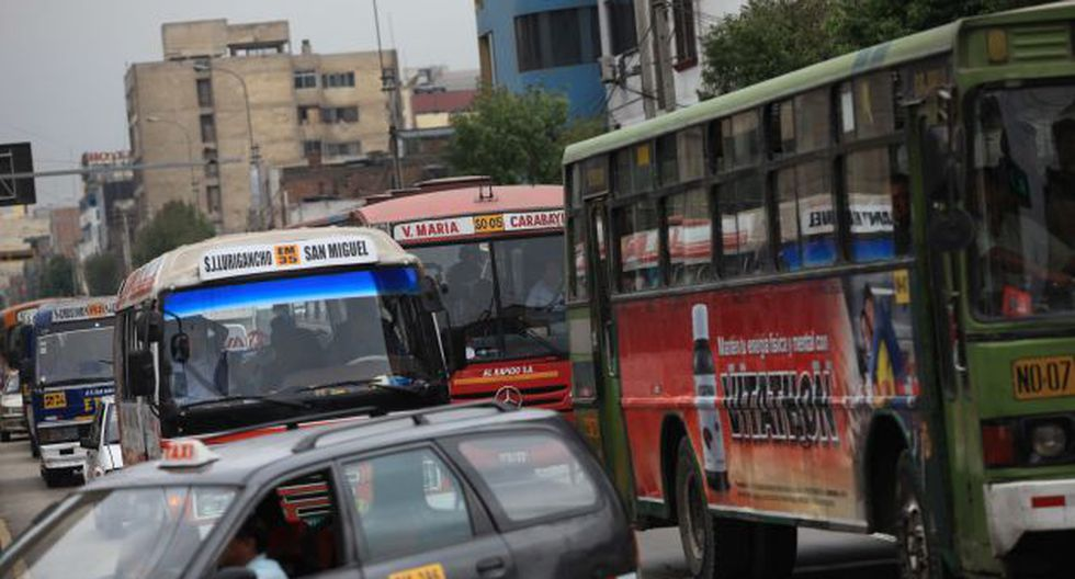 Municipalidad de Lima retirará de circulación más de 150 vehículos de transporte público por antigüedad. (USI/Referencial)