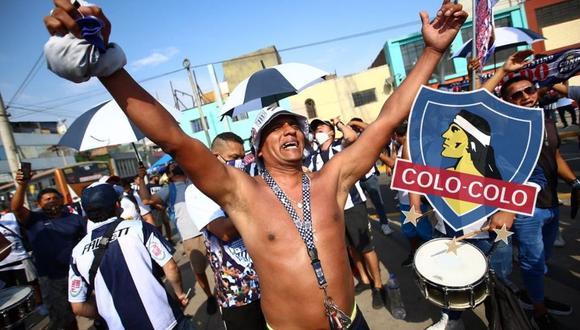 Colo Colo envía mensaje de hermandad a Alianza Lima. (Foto: GEC)