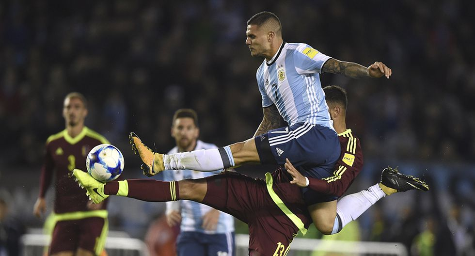 Argentina y Venezuela se enfrentarán en Madrid, en partido amistoso. (Foto: AFP)
