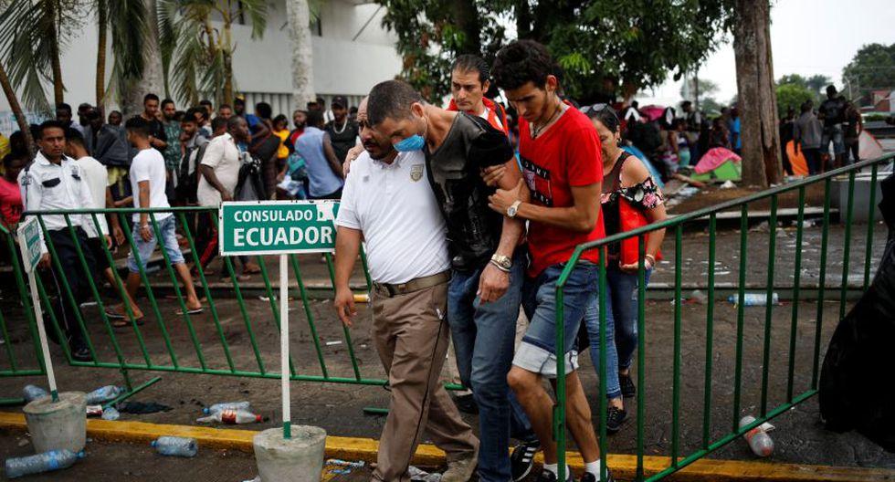 Reuters habló con más de una docena de migrantes en el centro de detención Siglo XXI, el más grande del país. (Reuters)