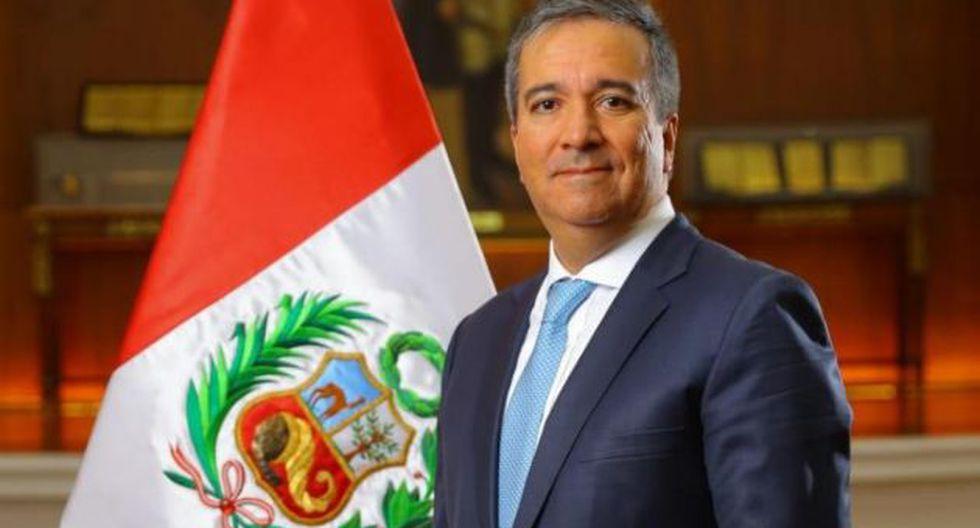 El nuevo ministro de la Producción, Raúl Pérez-Reyes, reemplazó en el cargo a Daniel Córdova. (USI)