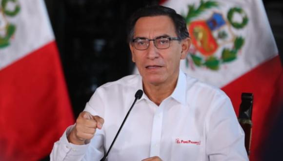 Presidente Martín Vizcarra mostró su indignación por largas colas para comprar cerveza en Piura. (Foto: Presidencia Perú)