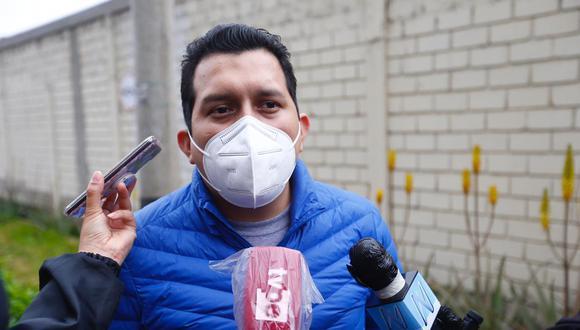 Sin protección. Legislador José Luna Morales está en manos de la Fiscalía. (Foto: HugoCurotto / @photo.gec)