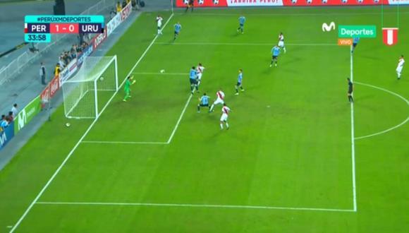 Mira el gol de Christofer Gonzales. (Captura: Movistar Deportes)