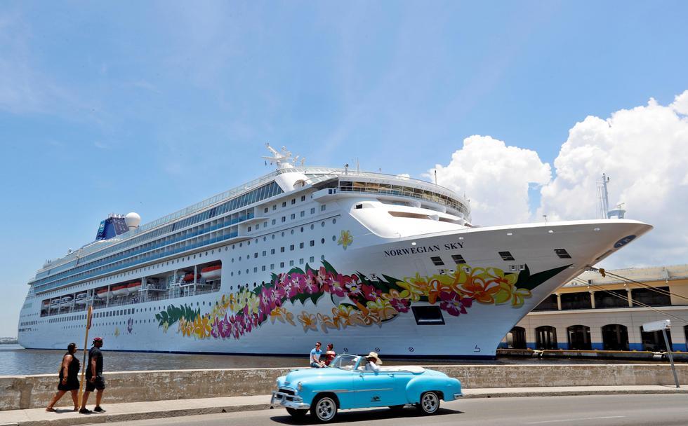 """El Gobierno de EE.UU. prohibió los cruceros a Cuba y restringió las visitas culturales de los ciudadanos estadounidenses, en un nuevo intento por presionar a la isla por su """"papel desestabilizador"""". (Foto: EFE)"""