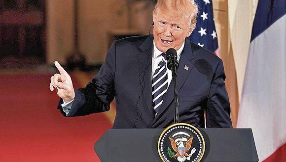 Donald Trump elogió a Kim Jong-un. (Reuters)