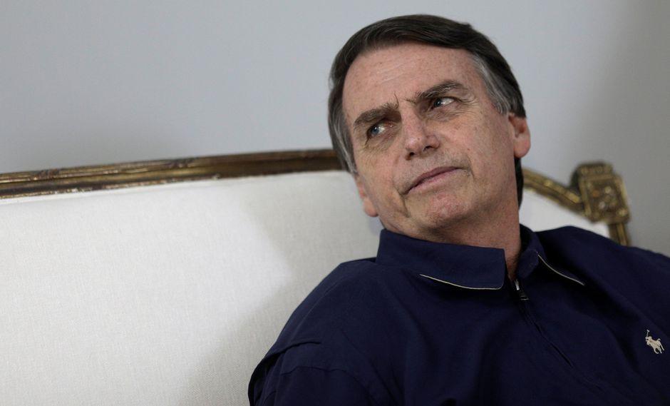Jair Bolsonaro se ha hecho conocido por sus comentarios misóginos y homofóbicos. (Foto: Reuters)