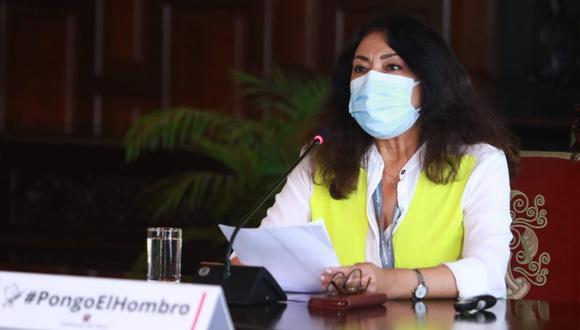 La primera ministra, Violeta Bermúdez, recordó que el Ejecutivo brindó el apoyo necesario a los organismos electorales para el desarrollo de las elecciones generales del 11 de abril y el 6 de junio. (Foto: PCM)