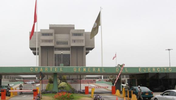 Ministro de Defensa, José Huerta, recibirá homenaje póstumo en el Cuartel General del Ejército, en San Borja. (Foto: GEC)