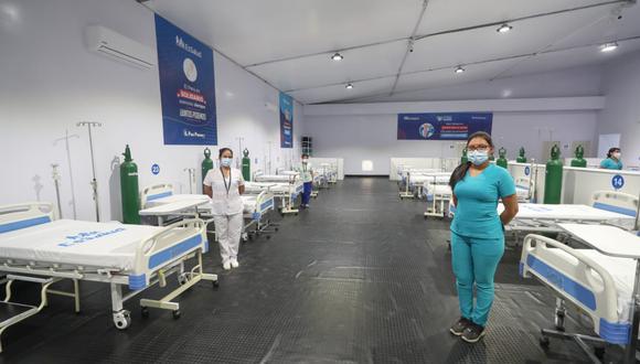 Coronavirus en Perú: inauguran hospitales temporales en Moquegua (Foto difusión).