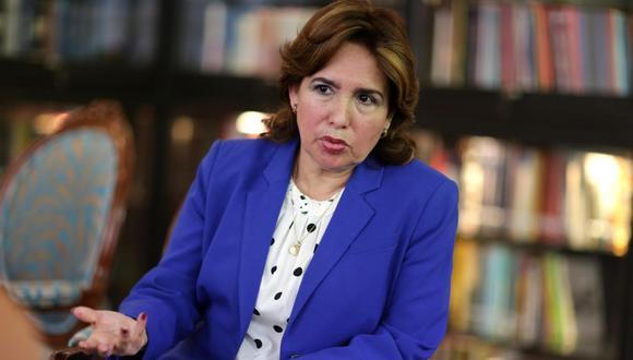 La presidenta del Poder Judicial, Elvia Barrios, señaló que es decisión de la OCMA como órgano autónomo decidir si investiga o no a un juez. (photo.gec)