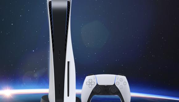 Consola de videojuegos PlayStation 5. (Foto: captura de pantalla   PlayStation)