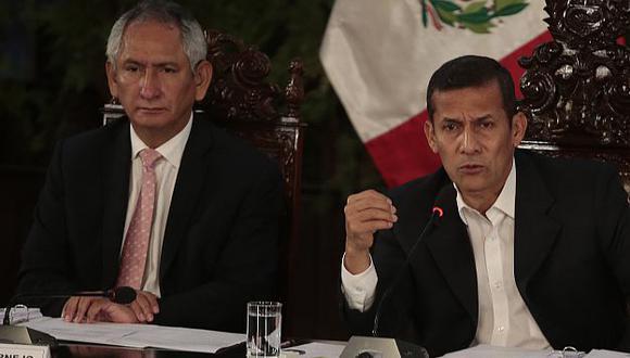 Humala aún mantiene a René Cornejo como primer ministro. (Martín Pauca)