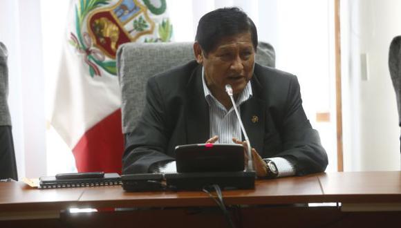 Juan Pari preside grupo de trabajo que investiga presuntas coimas de empresas brasileñas a funcionarios peruanos. (César Fajardo)