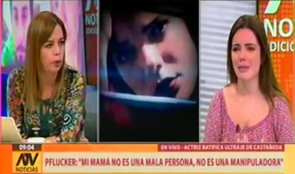 La actriz estuvo en entrevista con Milagros Leiva en polémica entrevista. (Créditos: Captura)