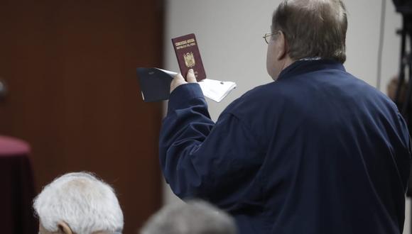 La abogada de Luis Nava indicó que su defendido corre riesgos a su integridad. (Foto: César Campos / GEC)