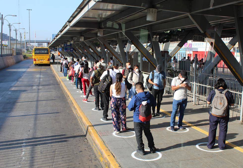 Metropolitano y los Corredores Complementarios realizaron cerca de 8 millones 697 mil viajes en cuarentena. (Foto: MML)
