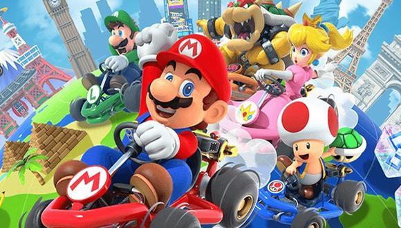 'Mario Kart Tour' estará disponible desde el próximo 25 de setiembre para dispositivos Android e iOS.