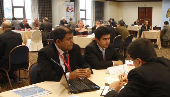 Encuesta fue realizada en almuerzo institucional de AmCham Perú. (USI/Referencial)