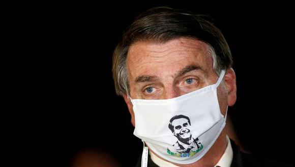 Jair Bolsonaro anuncia que dio positivo a coronavirus. (Reuters).