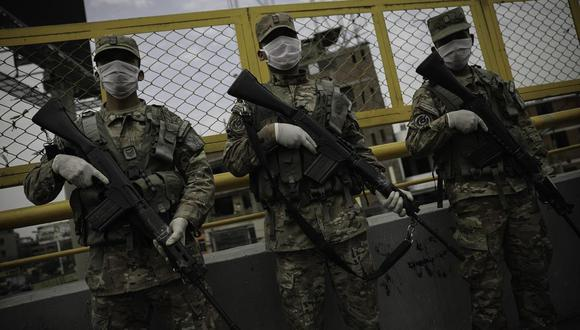 Ministerio de Defensa demandó respeto a la institucionalidad de las Fuerzas Armadas. (Foto: Joel Alonzo/GEC)