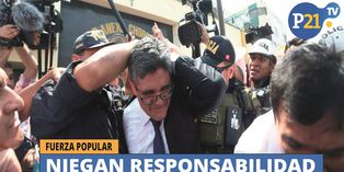 Fuerza Popular niegan responsabilidad de agresión a fiscal Pérez
