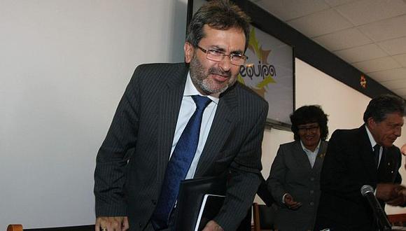 El ministro de Justicia fue claro en señalar que la nueva ley cerrará el paso a Sendero. (Heiner Aparicio)