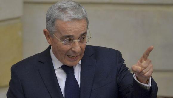Álvaro Uribe apoya que su ex viceministro de Transportes haya sido capturado por vínculos en caso Odebrecht (AFP).