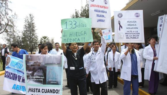 Médicos de Essalud anunciaron huelga nacional programado para el 8 de julio.  (USI / Referencial)