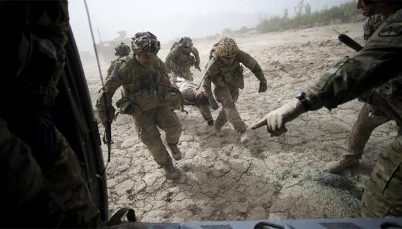 Afganistán atraviesa una de sus etapas más sangrientas tras el final de la misión de la OTAN en 2015, que solo continúa en el país en tareas de adiestramiento. (Foto: AFP)