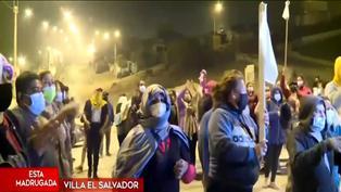 Lomo de Corvina: invasores se enfrentaron a la policía que los intentó retirar del lugar
