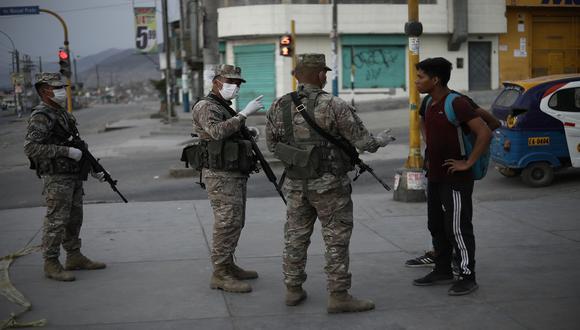 Policía Nacional informó las medidas restrictivas que regirán el domingo 11 de abril. (Foto: Joel Alonzo/GEC)