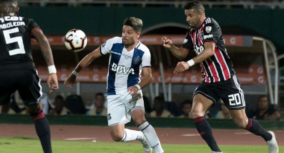 El ganador de la serie entre Sao Paulo y Talleres de Córdoba enfrentará en la tercera fase a Independiente de Medellín o Palestino. (Foto: Talleres de Córdoba)