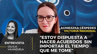 Agnieszka Cespedes candidata al Congreso de Victoria Nacional