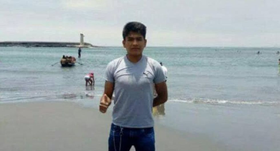 Asesinan a estudiante universitario para robarle carro en La Oroya. (Facebook)