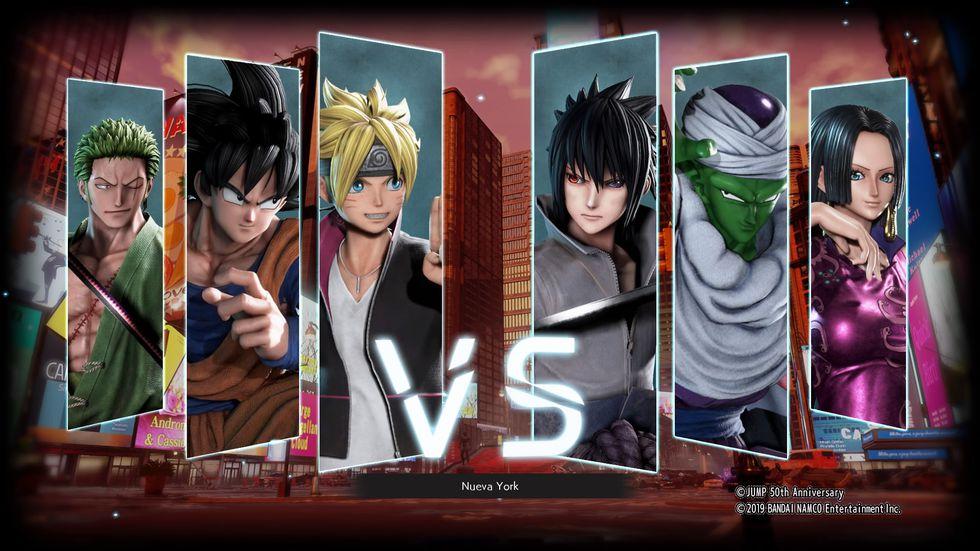 Bandai Namco lanzó 'Jump Force' en formato multiplataforma, PS4, Xbox One y PC.